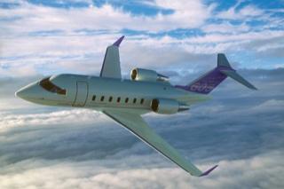 фото самолёта Bombardier Challenger 605