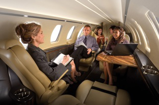 фото салона самолёта Cessna Citation CJ4