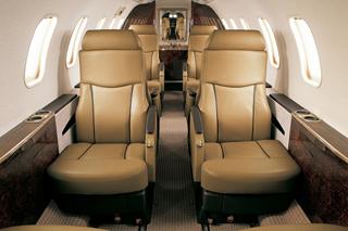 фото салона самолёта Learjet 40XR